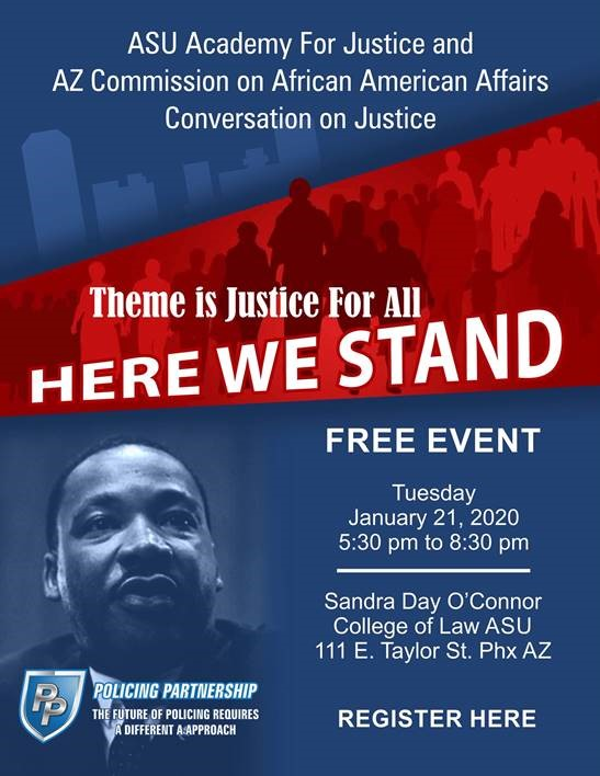 Flyer for MLK Event