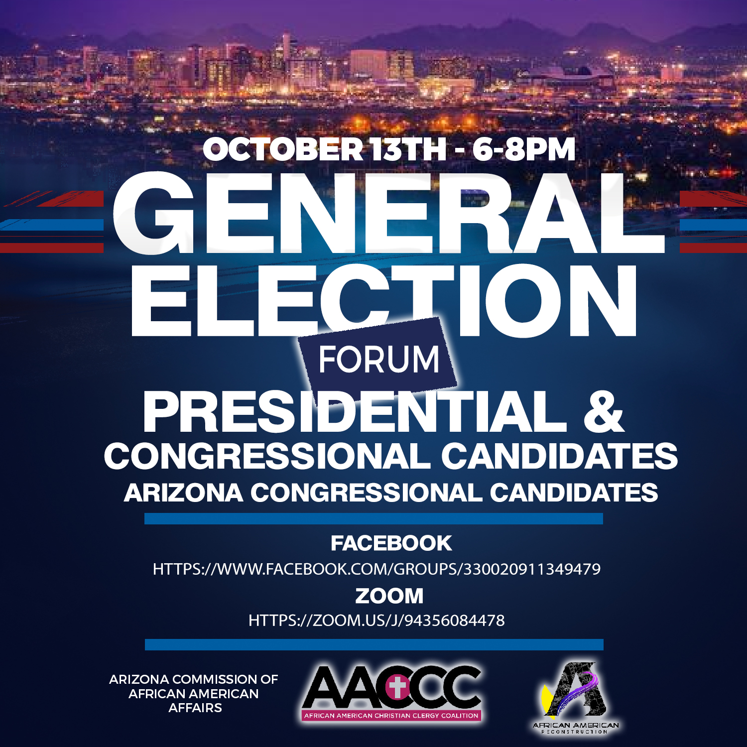 Info about General Election Forum